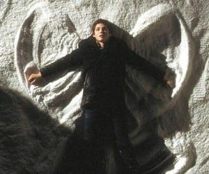 logan lerman, charlie, and snow image