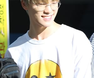 Chan, Seventeen, and dino image