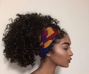 beauty, hair, and melanin image