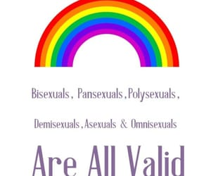asexual, omnisexual, and lgbtq pride image