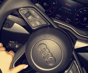 audi, girl, and nails image