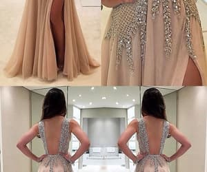 dress, vestido, and glitz image