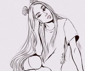amazing, drawing, and ariana grande image