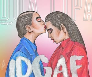 idgaf and dua lipa image