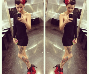 fashion, Pin Up, and psychobilly image