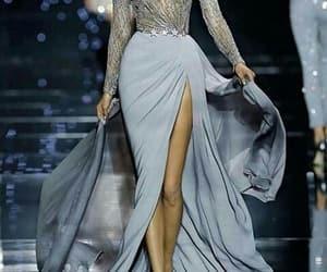aesthetic, dress, and runway image