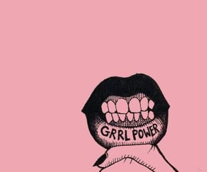 feminist, girl power, and pink image