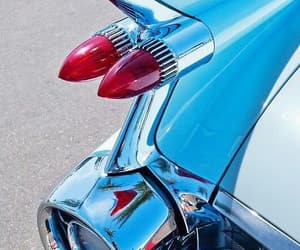 blue, vintage, and cars image