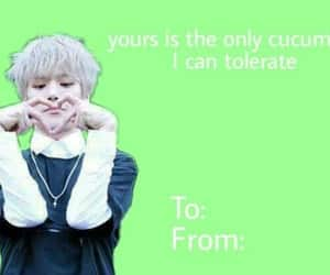 kpop, starship, and valentine card image