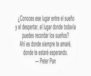 peter pan, frases, and amor image