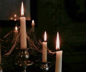 candles, castle, and fairytale image