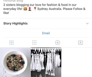 blogger, fashion, and food image
