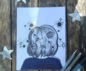 dibujo, planetas, and drawing image