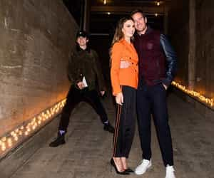 armie hammer, oliver, and elizabeth chambers image