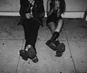 grunge, couple, and boy image