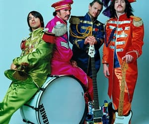 red hot chili peppers and rhcp image