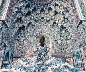 blue, dress, and amazing image