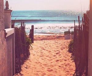 beach, summer, and wallpaper image