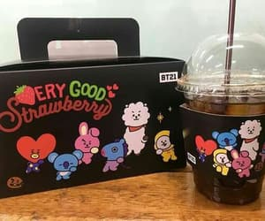beauty, bt21, and bts image