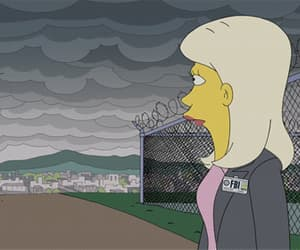 gif, the simpsons, and simpsons image
