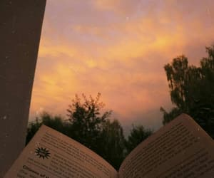 book, aesthetic, and sky image