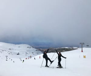 blue, montana, and white image