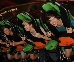 big smile, rollercoaster, and louis image