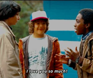 11, dustin, and eleven image