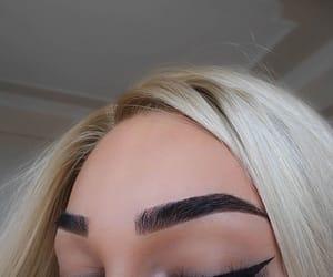 beautiful, makeup, and eye liner image