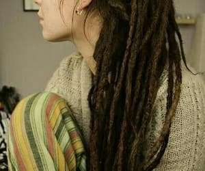 dreads, dreadlocks, and hair image