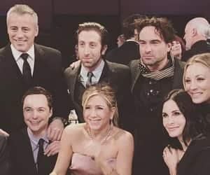 Jennifer Aniston, the big bang theory, and friends image