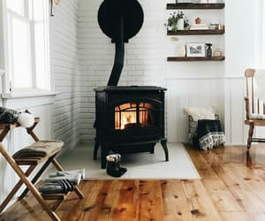 cosy, fireplace, and cottage image