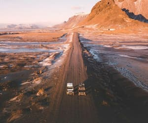 iceland, mountains, and road image