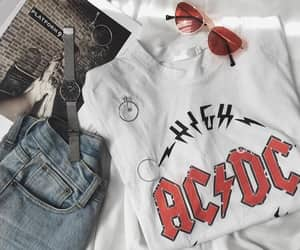 ac dc, fashion, and jeans image