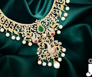 pearl jewellery, fashion necklace sets, and bollywood necklace set image