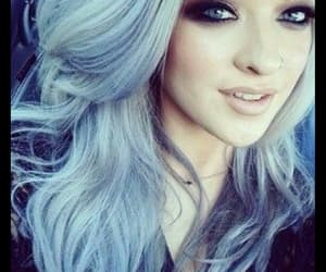 hair, make up, and smail image