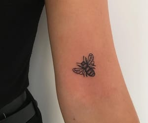 tattoo, bee, and aesthetic image