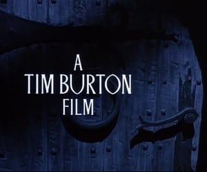 tim burton, film, and dark image