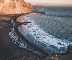 iceland and ocean image