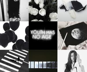 aesthetic, bnw, and moodboard image