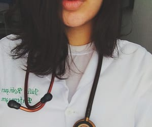 nurse, Piercings, and septum piercing image