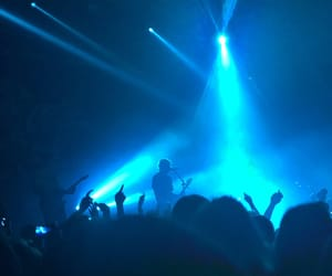 blue, concert, and music image