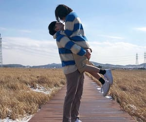 asian, couple, and cute couple image