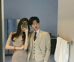 couple, ulzzang, and korea image