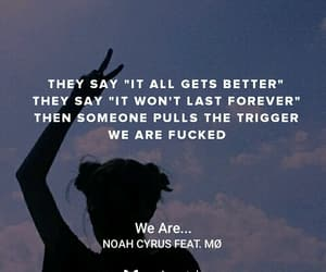 music, mØ, and noah cyrus image