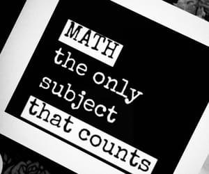 black, math, and joke image