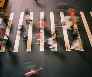 crossroads, photograph, and walking image