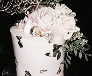 birthday, dessert, and cake image
