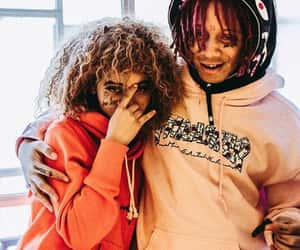 couple, goals, and trippie redd image