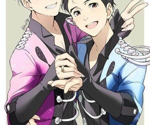anime, yuri on ice, and yaoi image